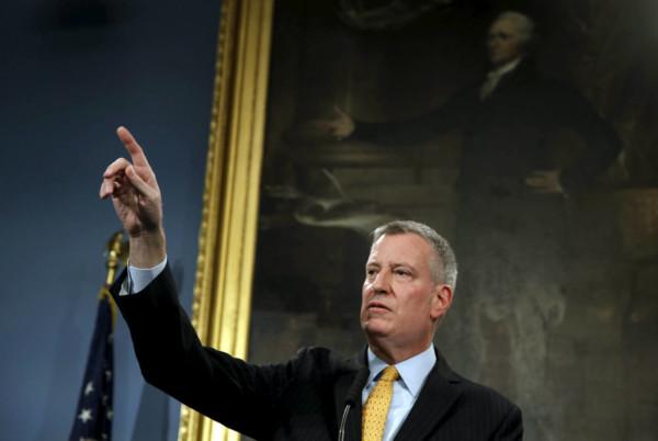 紐約巿長 圖片來源:路透社