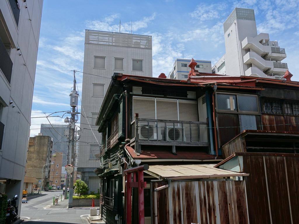 位於東京中央區的一間空置住房。圖片來源:photozou.jp