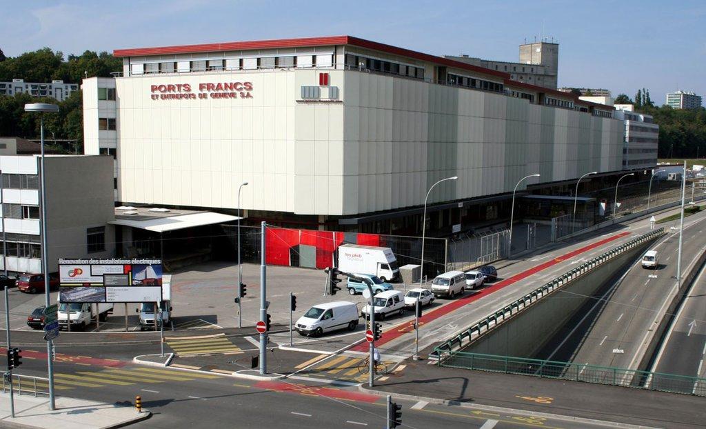 日內瓦自由港:世上最貴的貨倉。 圖片來源:Geneva Free Ports