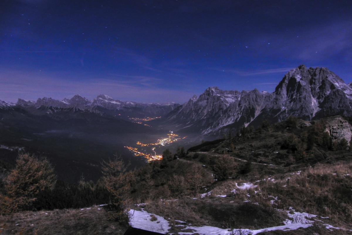 Cortina d'Ampezzo--有光的地方就有歧視。