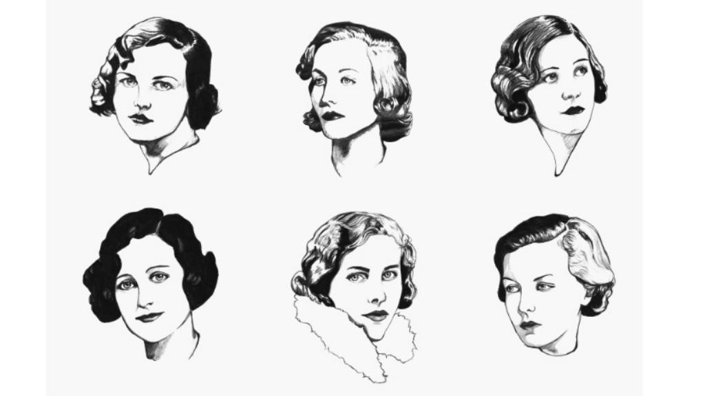 Mitford 姐妹頭像的藝術品,網上有售