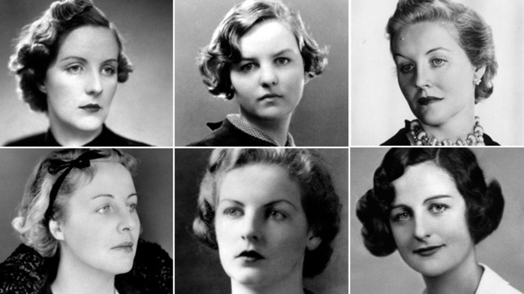 左上起:Unity, Jessica, Diana;左下起:Pamela, Deborah, Nancy