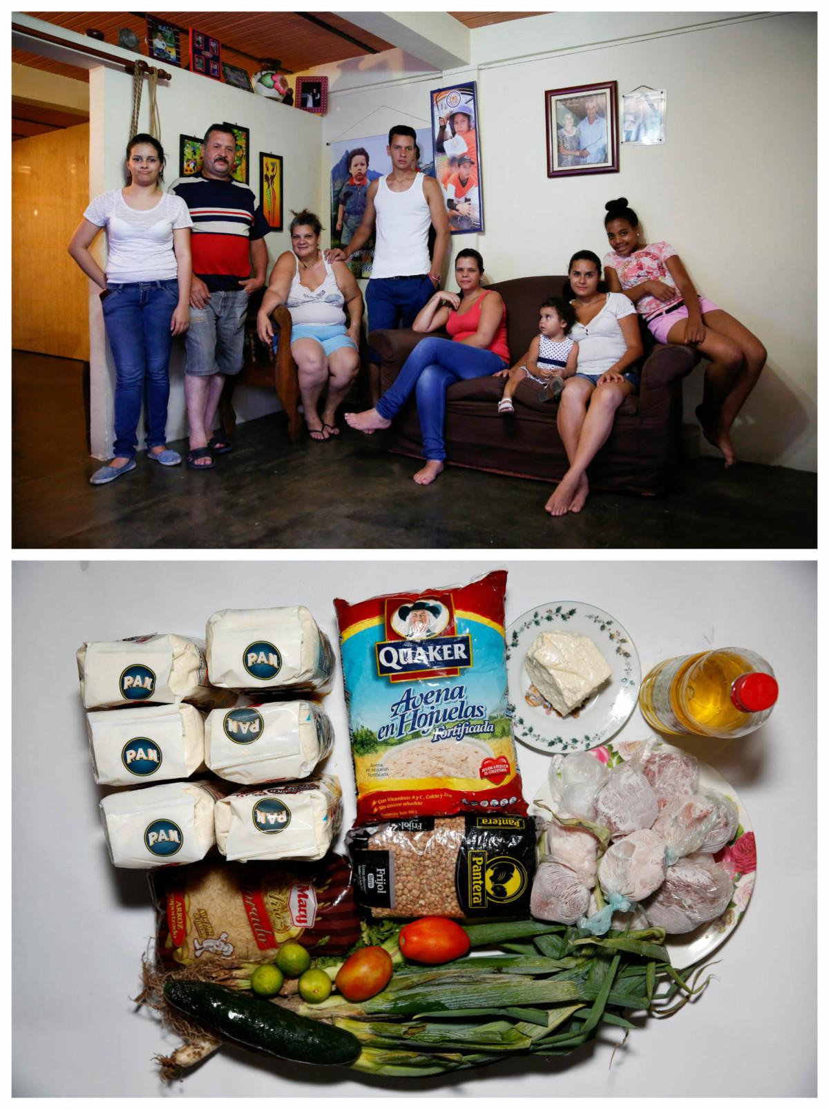 Ricardo Mendez 一家:「我們是大家族,愈來愈難維生。」