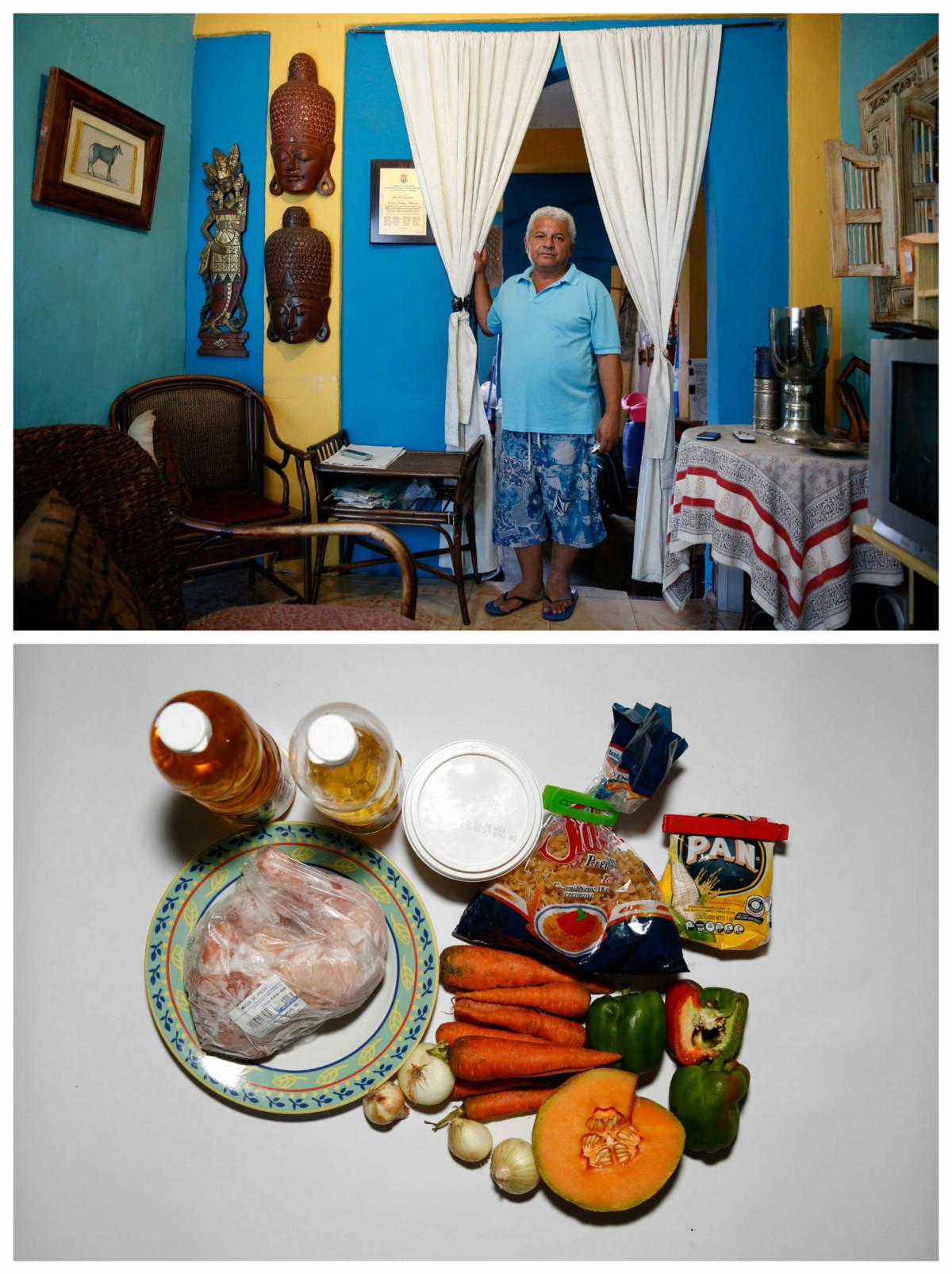 Duglas Sanchez:「飲食質素很差,營養不均。吃得到午餐,就吃不起晚餐;吃得到晚餐,就負擔不起早餐。」