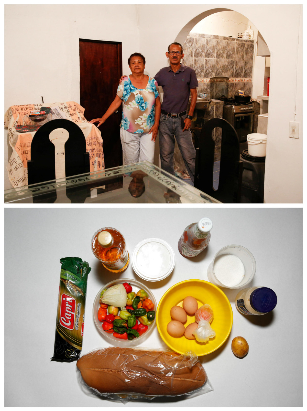 Mirella Rivero 母子:「我早餐食粟米麵包或者墨西哥粽,每日兩次。」