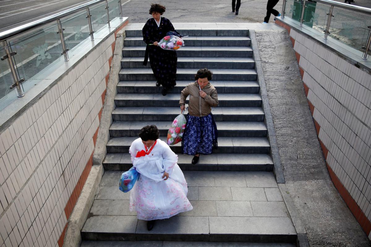 人在北韓,喜慶突然變成非法。 圖片來源:路透社