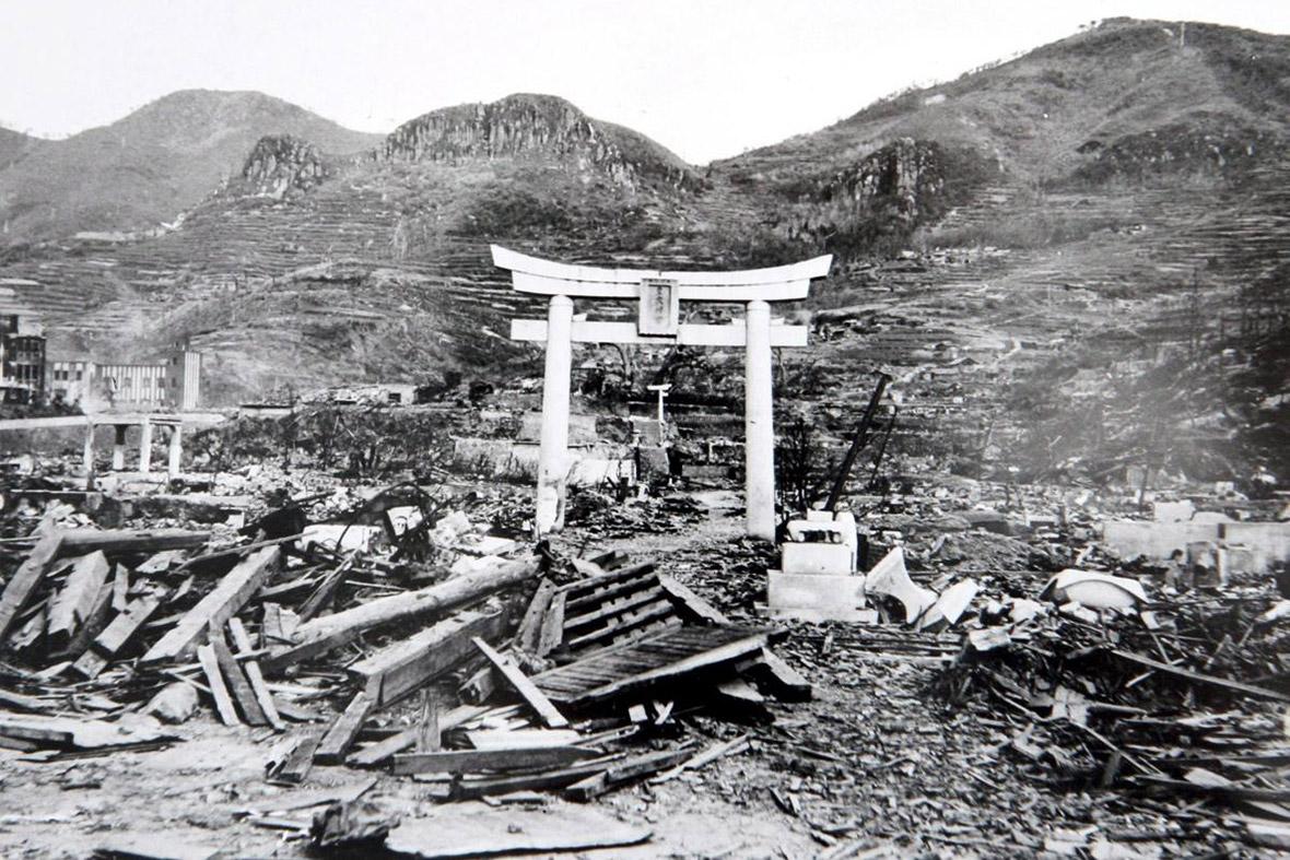 希望鳥居? 圖片來源:長崎原爆資料館