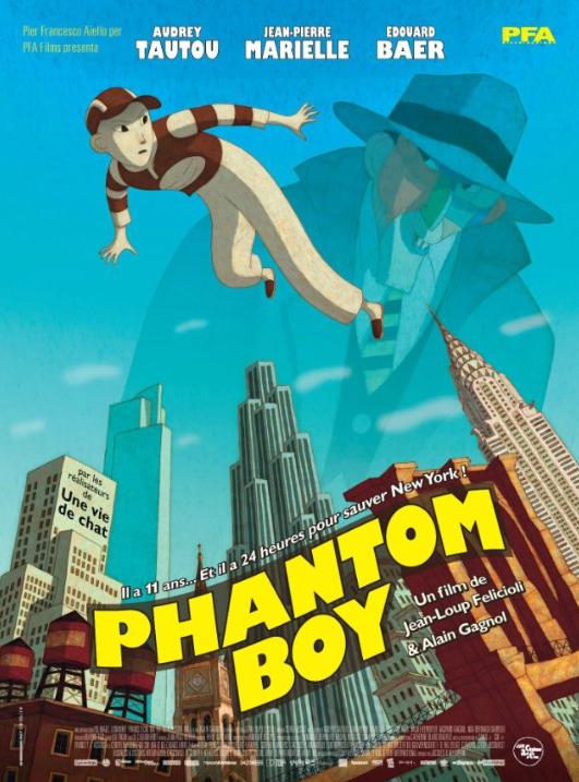 Phantom Boy - 廢青救地球 圖片來源:IMDB