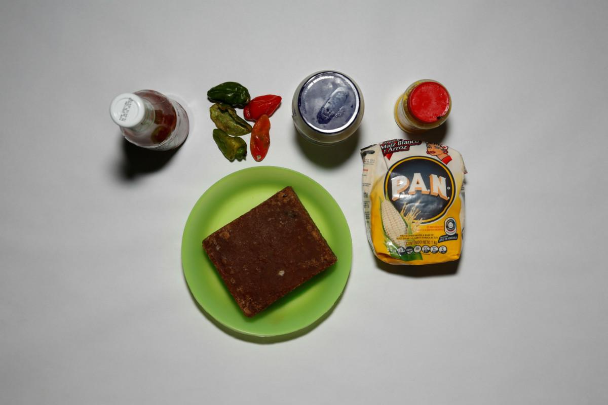 糧食短缺,加拉加斯居民儲糧嚴重不足。 圖片來源:路透社