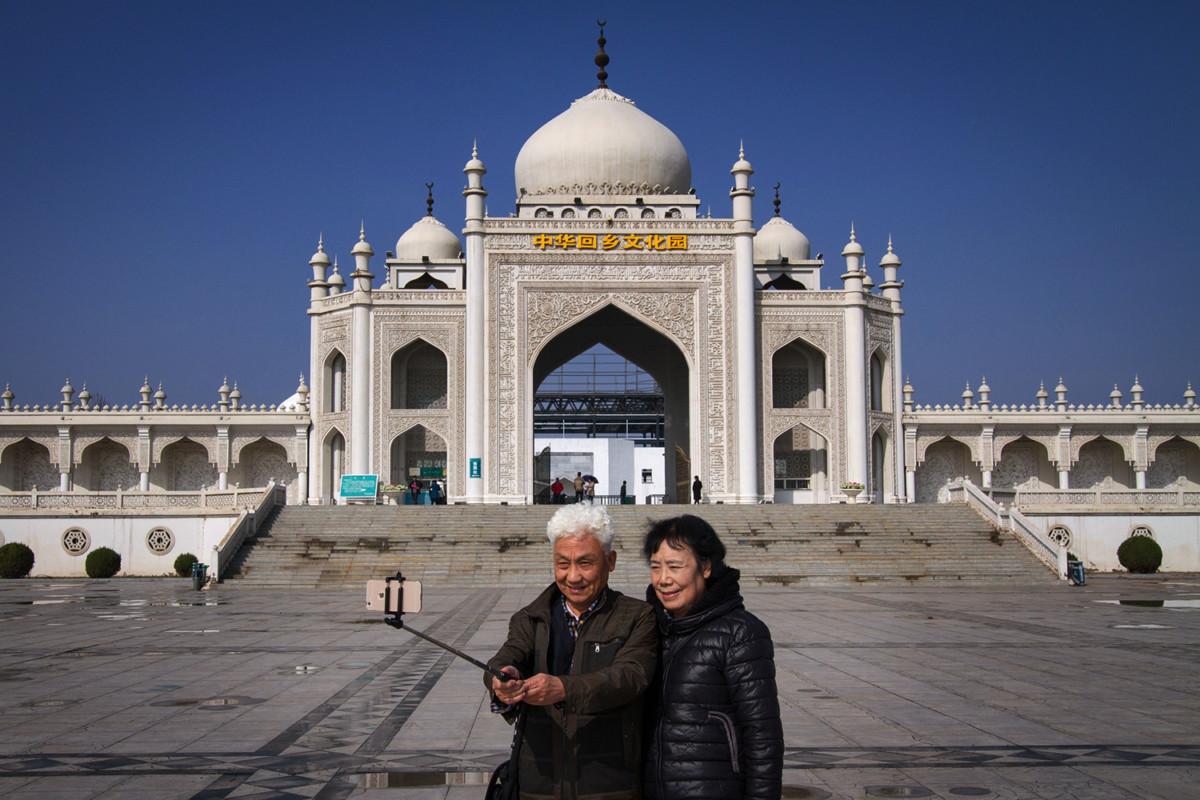 不是泰姬陵,是中華回鄉文化園。 圖片來源:Yan Cong