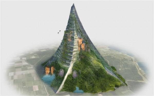 荷蘭傳媒人 Thijs Zonneveld 曾構思在當地打造一座人工山,有工程師估算耗資高達 2,300 億美元。圖片來源:Hoffers and Kruger