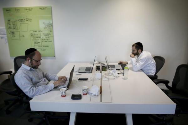 以色列致力發展金融科技(fintech),花旗銀行亦在特拉維夫成立科技中心(tech hub)。圖片來源:路透社