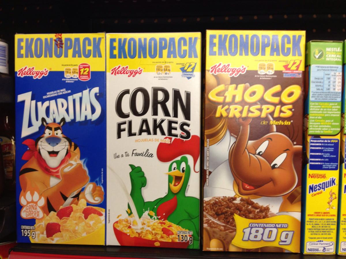 家樂氏旗下早餐產品款式眾多