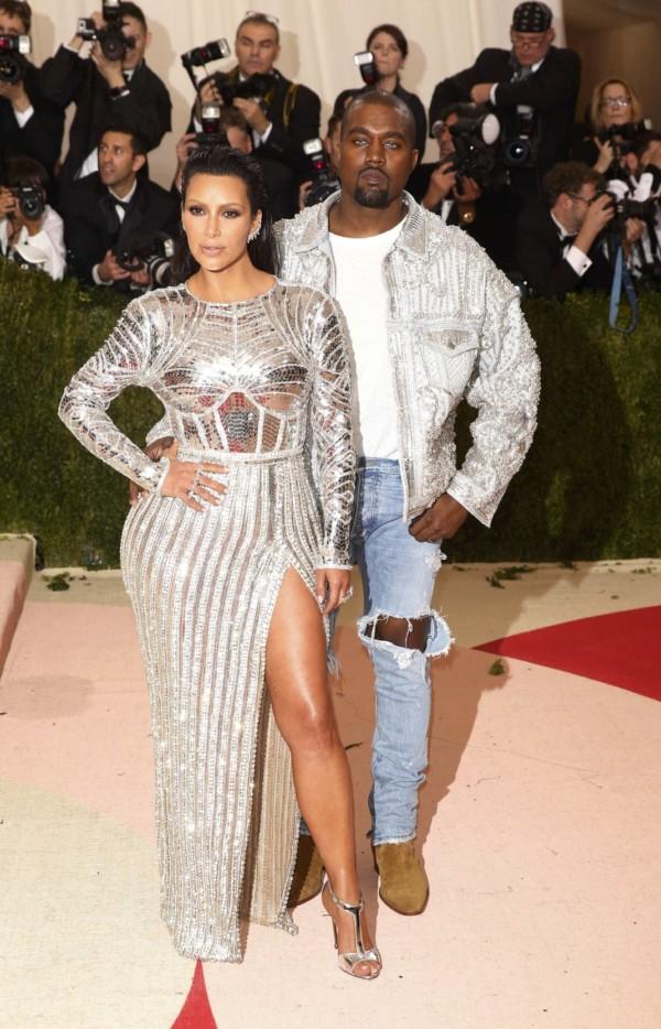 Kim Kardashian 被評為近期最悶的紅地毯造型。圖片來源:路透社