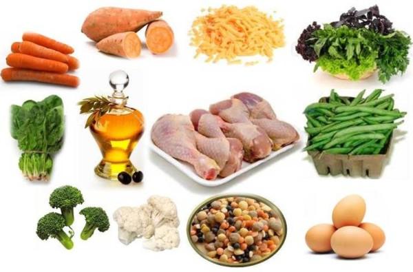 不含麩質的食物:生果、蔬菜、魚及海鮮、肉類、奶類、豆類等。 圖片來源:Celiac Disease Foundation