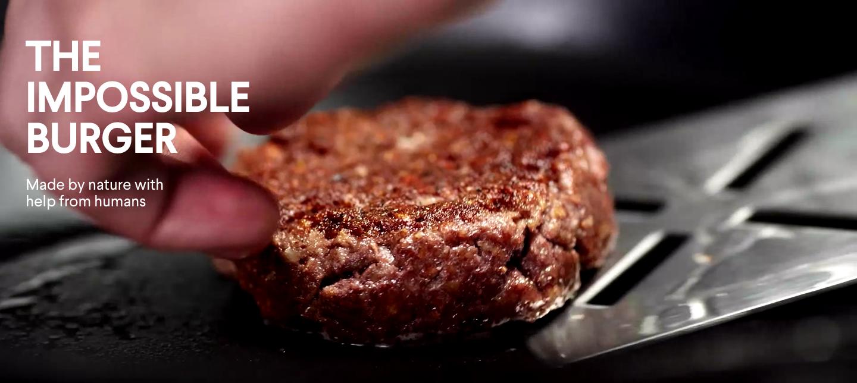 看不出是假牛扒的「人造肉」。 圖片來源:Impossible Foods 網站