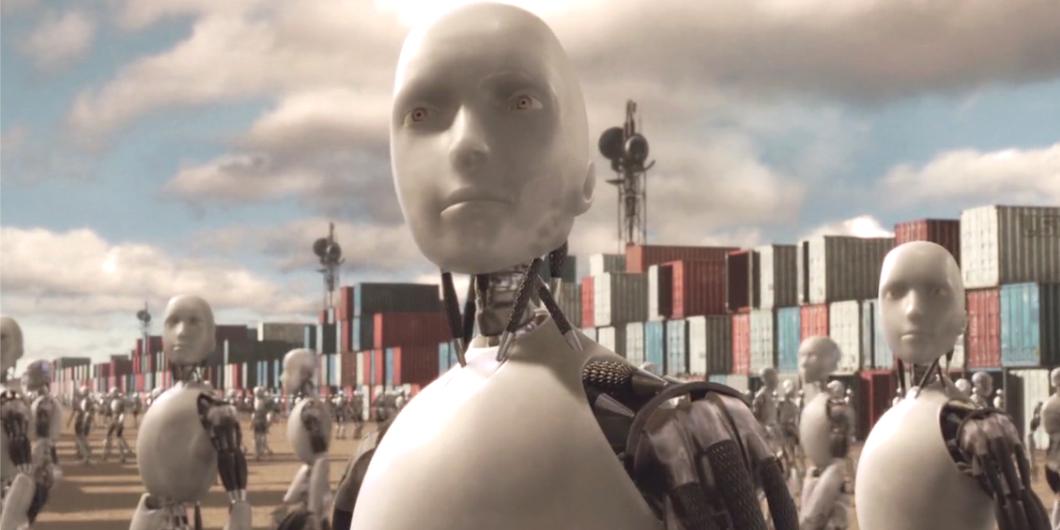 歐洲議會法律事務委員提交草案,建議將工作用機器人列為「電子人」,而僱主則需代為納稅。圖片來源:電影 I, Robot 劇照