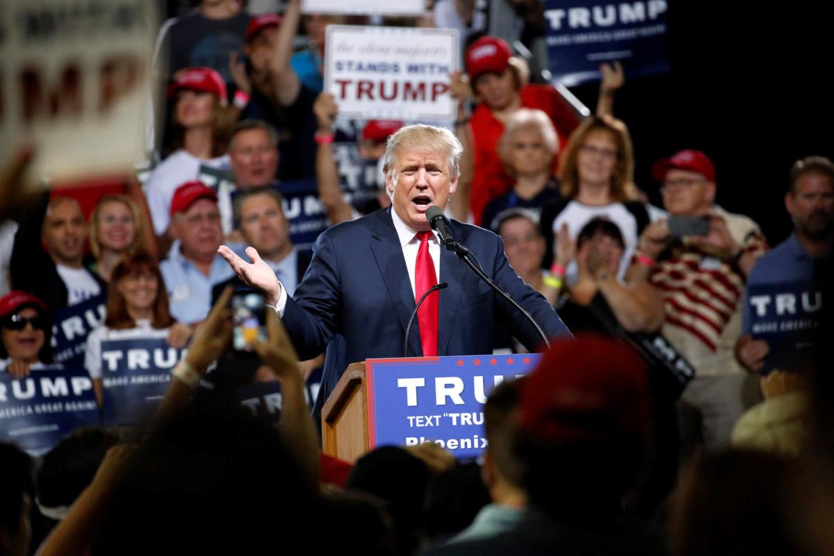 共和黨唯一候選人杜林普(Donald Trump) 。 圖片來源:路透社