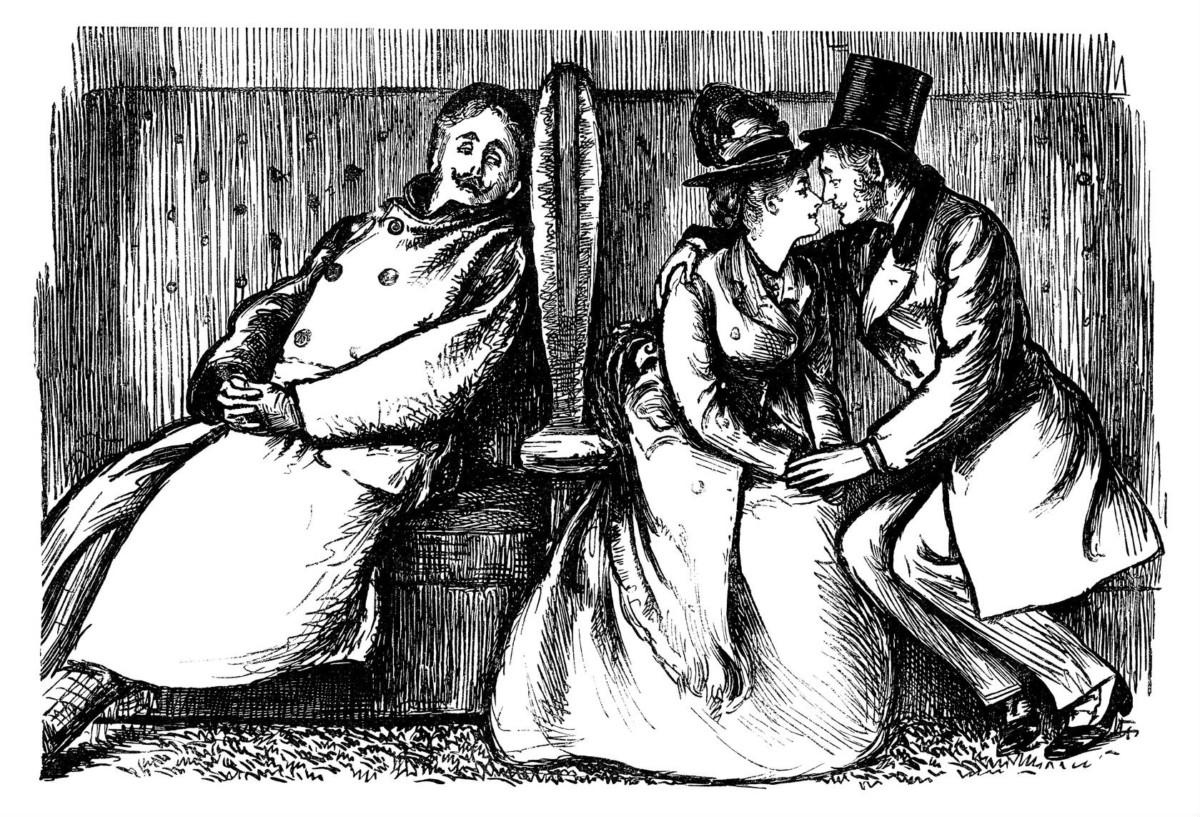 19 世紀末約會文化興起,女性開始在家外結識異性。