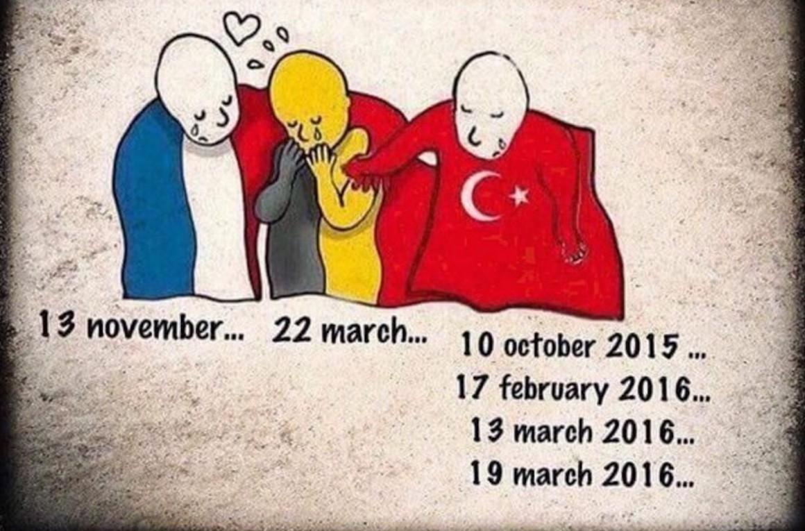 你是巴黎也是布魯塞爾,但你是安哥拉嗎? 圖片來源:Turkey_Pics Twitter