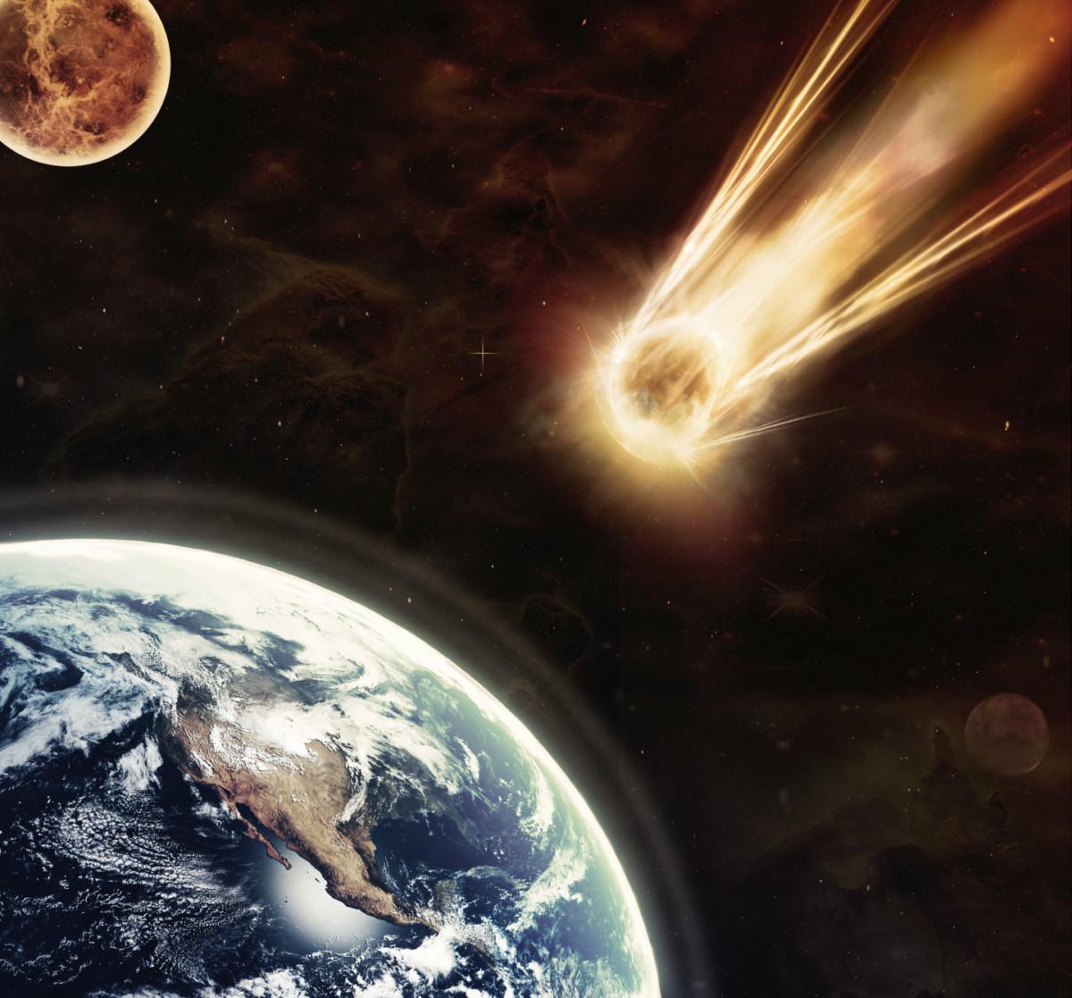 6,600 萬年前,一座山大小的小行星隕落地球,造成生態浩劫。