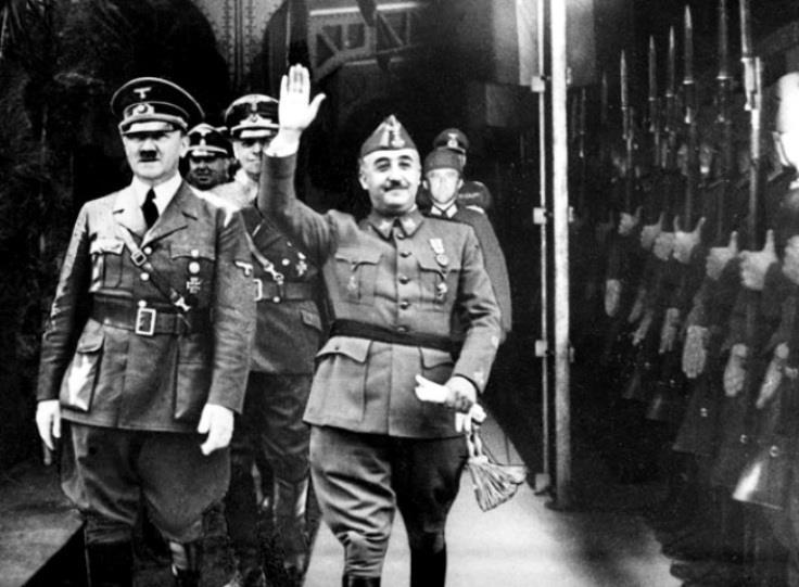 西班牙獨裁者佛朗哥為表效忠納粹,將全國時間調快,配合中歐時區。 圖片來源:Propias