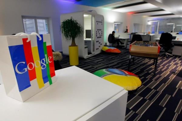 法國指 Google 涉嫌逃稅,在上月搜查 Google 的巴黎總部。圖片來源:路透社