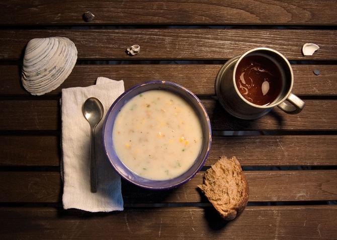 白鯨記/Herman Melville,船上水手喜見的周打湯