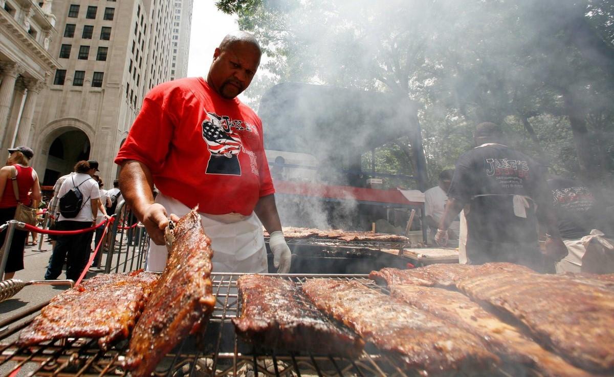 BBQ 是美國人慶祝獨立日的指定動作。圖片來源:路透社
