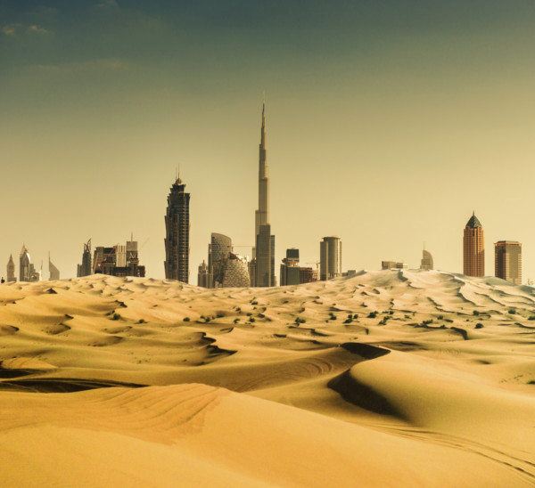 為了填出平地,杜拜成為用沙量極大的城市。
