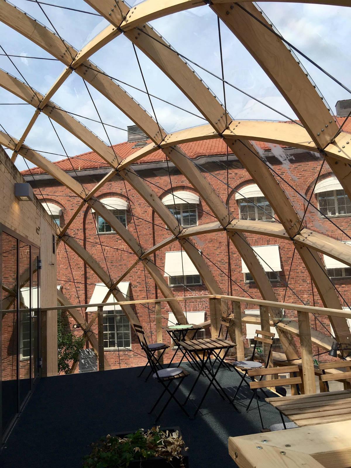 位於瑞典皇家理工學院是正中的 Dome of Visions。