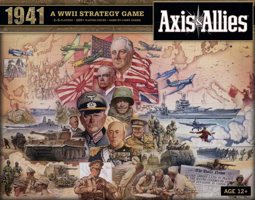 Axis & Allies 圖片來源:boardgamegeek.com