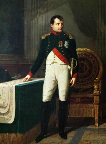拿破崙畫像 1809, Robert LeFevre