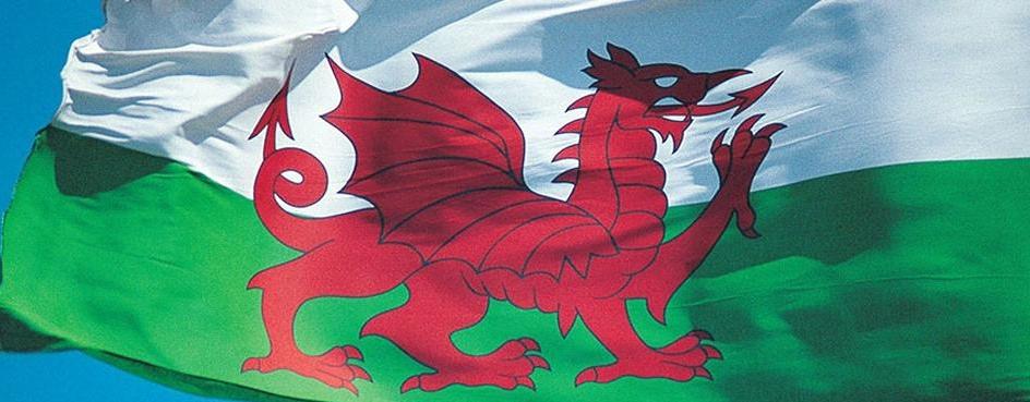 威爾斯王國國旗。圖片來源:BBC
