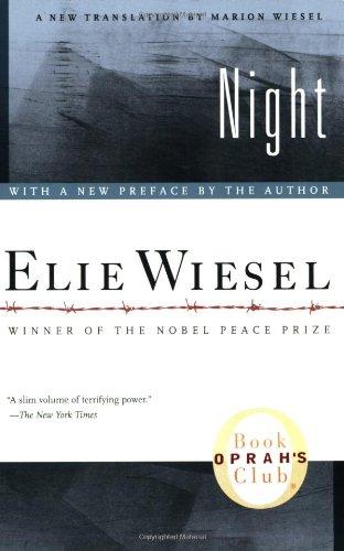 維瑟爾的著作「夜」。 圖片來源:亞馬遜