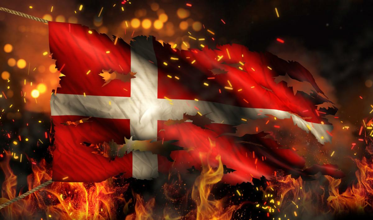 丹麥難,難於入火海。