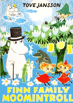 Finn Family Moominstroll (1948) 書本封面