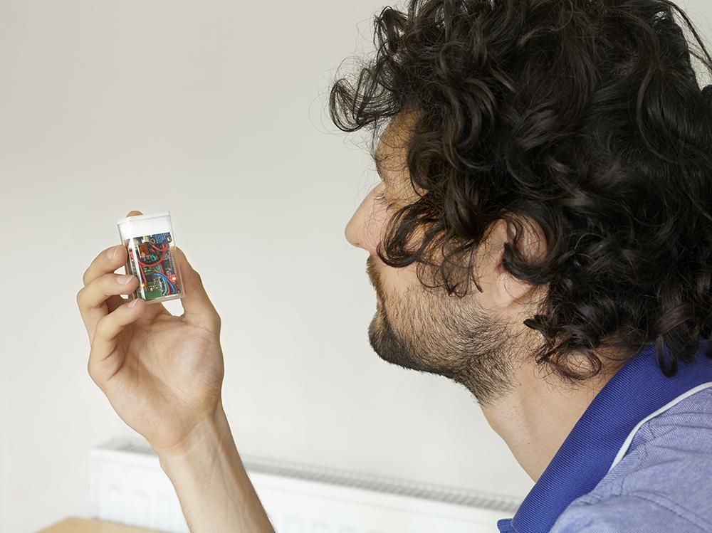 TimOmer 土製治療糖尿病的 Tic Tac 糖盒。圖片來源:Sparksproject