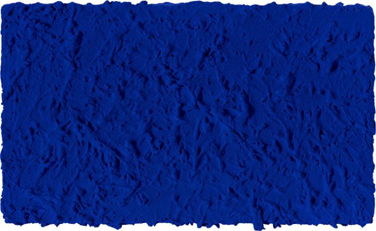 Yves Klein:「無題單色藍」