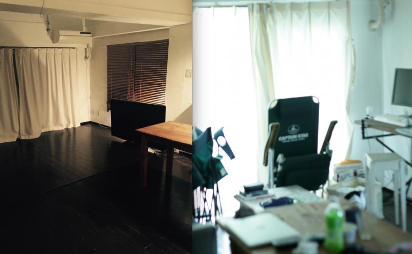 極簡主義者沼畑直樹房間的今昔對比。圖片來源 :minimalism.jp
