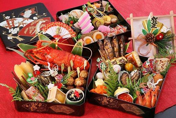 御節料理。圖片來源:matome.naver.jp