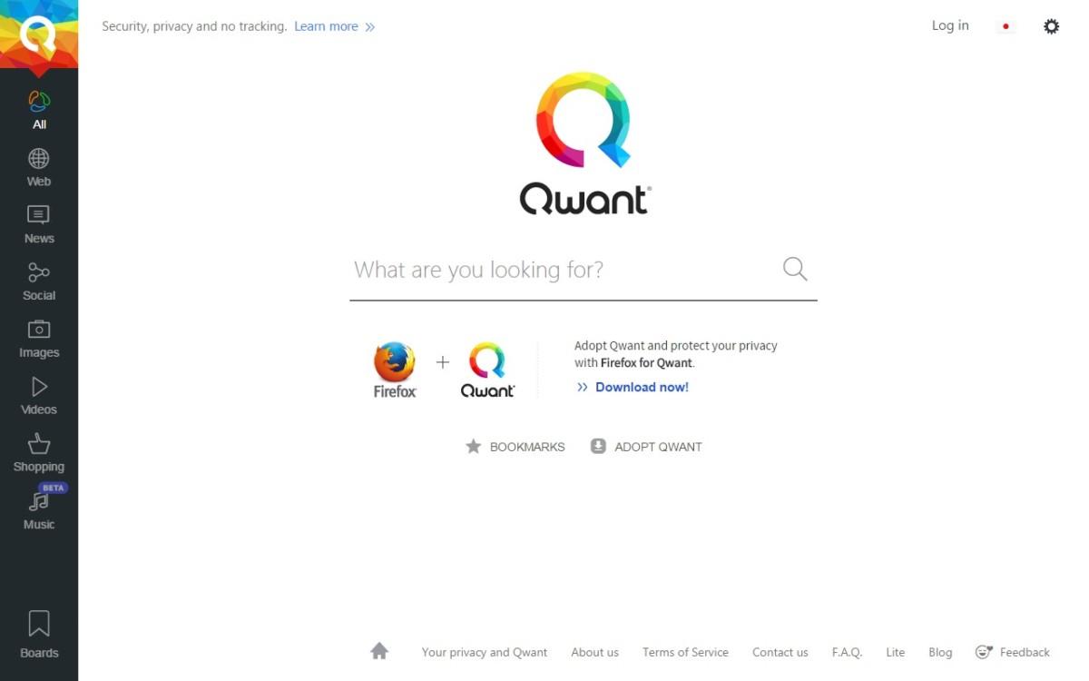 法國搜尋器新晉:Qwant