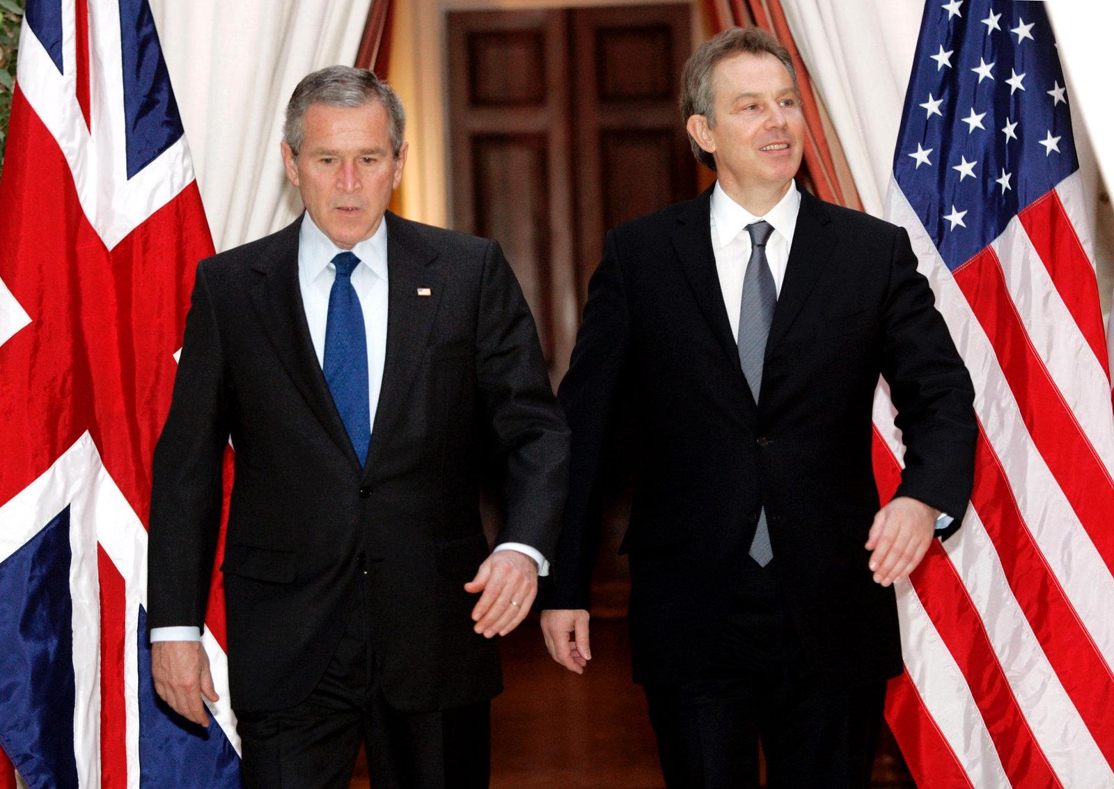 Kadhim 認為貝理雅和喬治布殊都是罪人,他們下令英美出兵,結果令伊拉克人痛不欲生。圖片來源:路透社