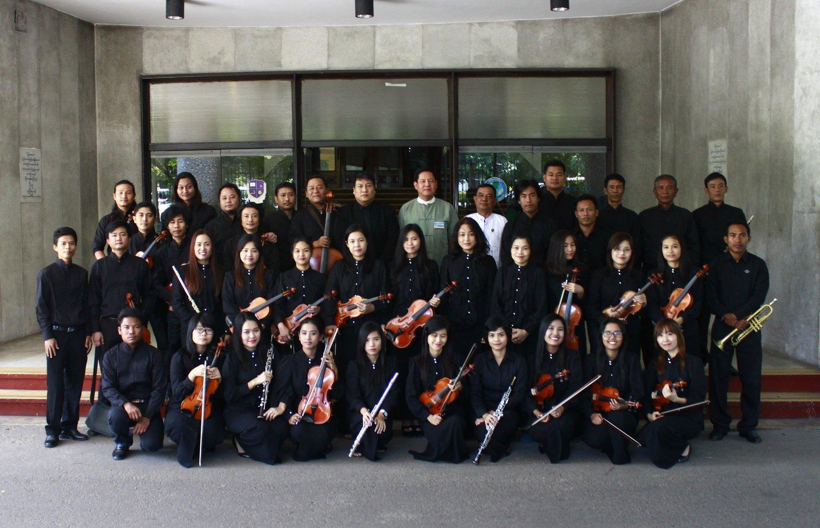 樂團成員來自不同民族,信奉不同宗教,但對音樂的喜愛,令他們走在一起。圖片來源:日本駐緬甸大使館