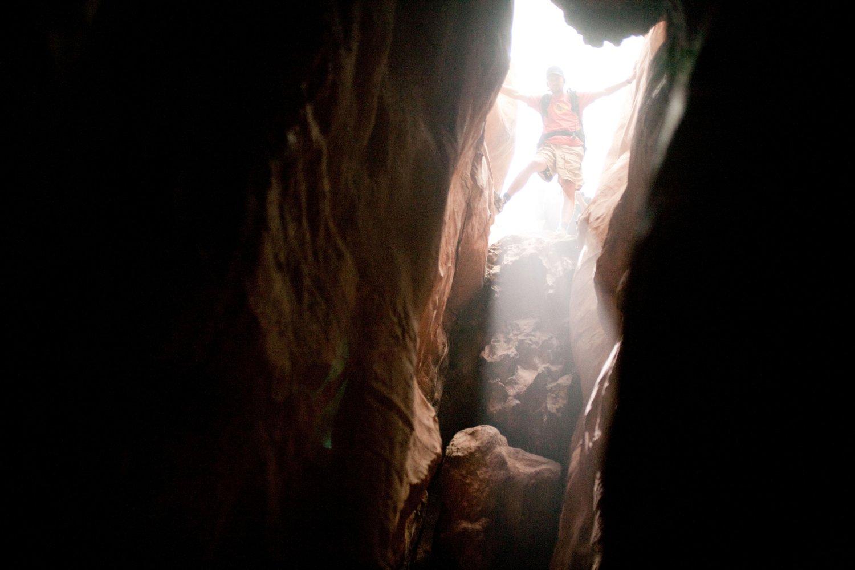 電影「127 Hours」劇照。