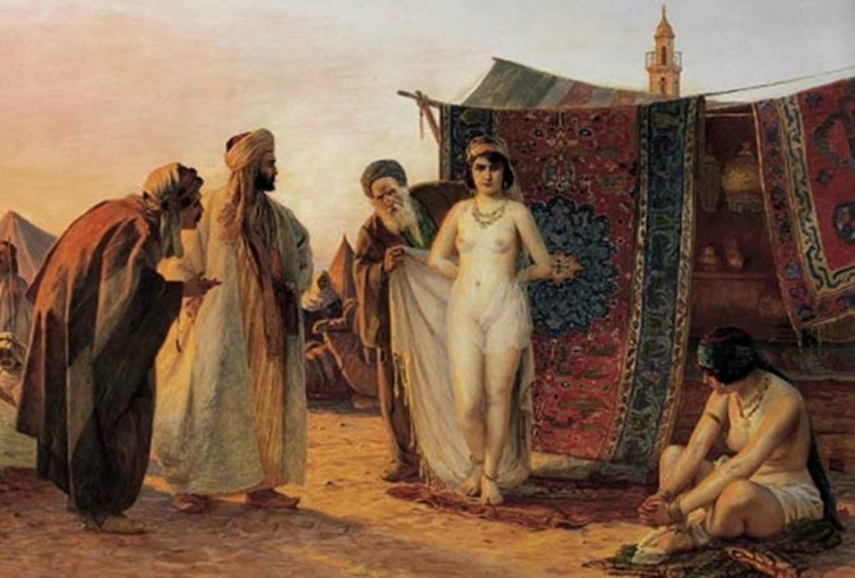 有歷史學者指出,1530 年至 1780 年間,有過百萬歐洲基督徒被北非海盜擄劫,淪為穆斯林的奴役。