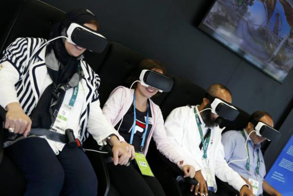 今年奧運大會將以高清 VR 技術廣播開幕和閉幕典禮,並直播賽事。 圖片來源:路透社