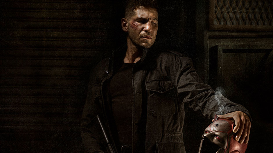 Daredevil 中的 The Punisher 圖片來源:Marvel.com
