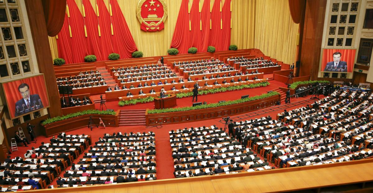 中國人大與會者主要是美國和加拿大人。 圖片來源:路透社