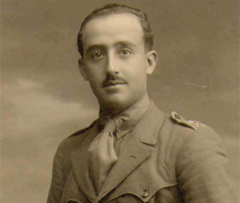 年輕時的佛朗哥(Francisco Franco)。 圖片來源:wikimedia